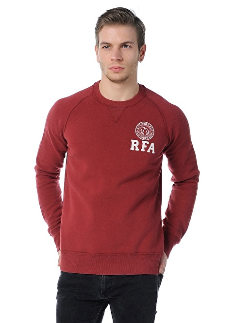 Routefield Sweatshirt Bordo
